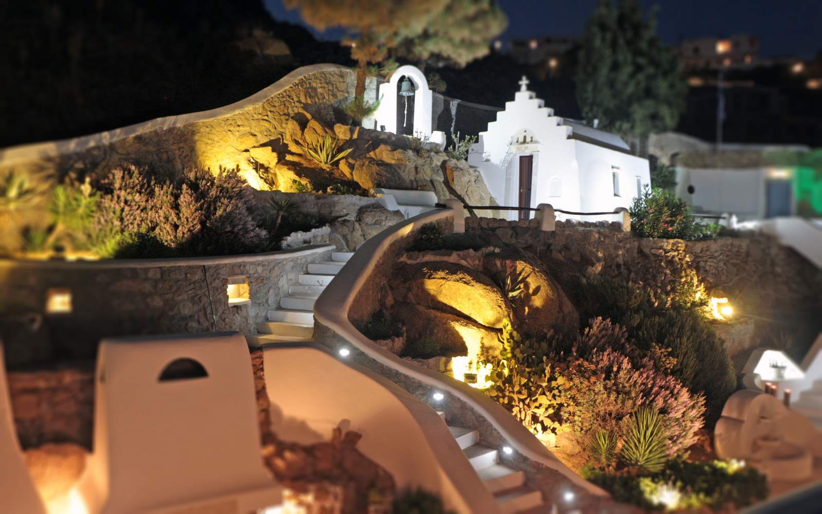 luxury Mykonos villa - wedding chapel