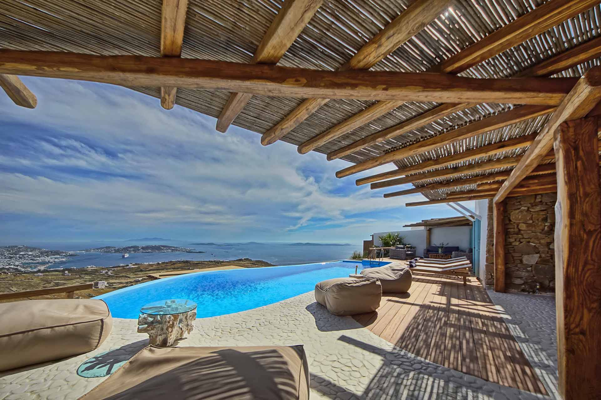 Mykonos luxury villa Urania in Fanari