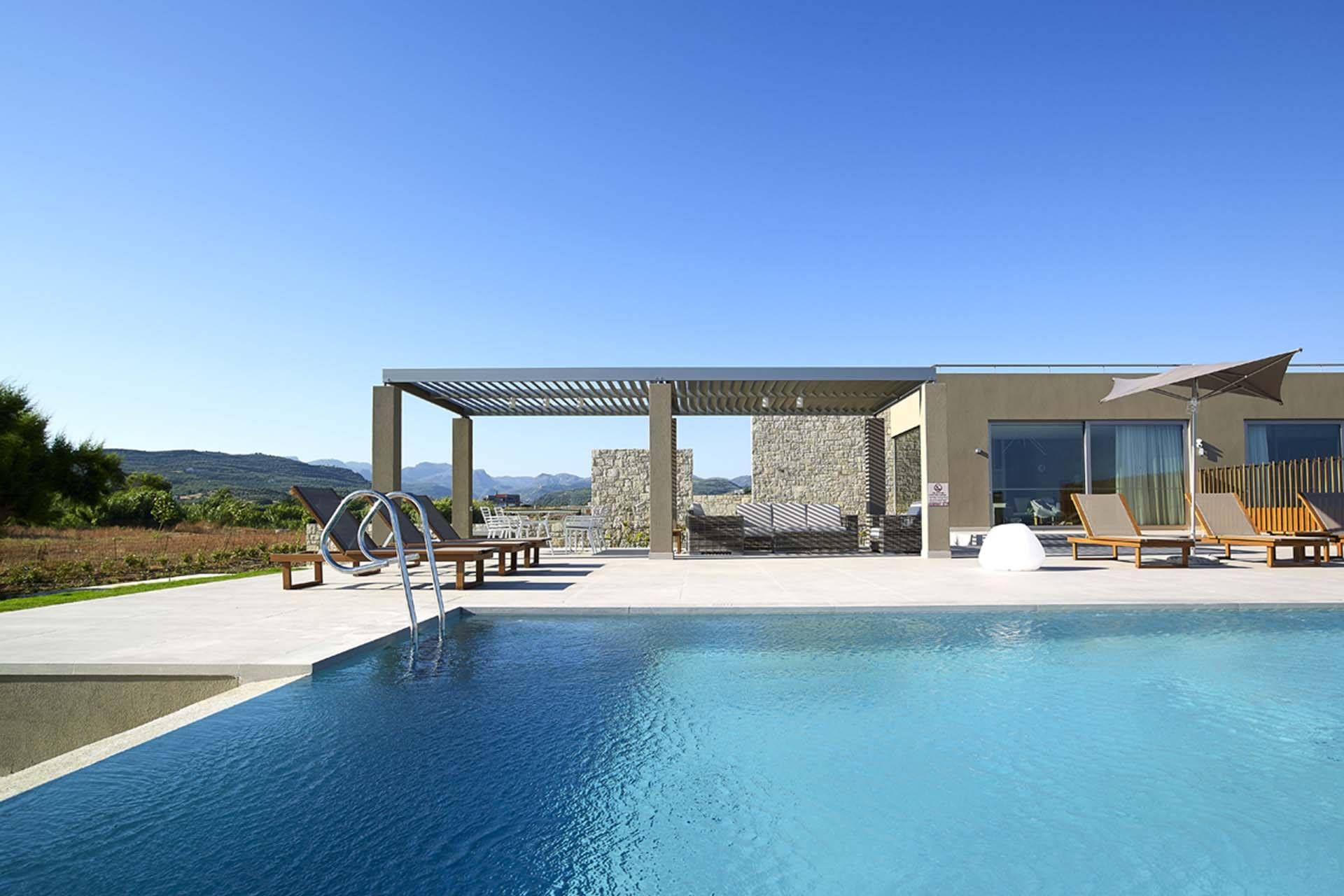 Crete luxury villa Falcon in Kissamos