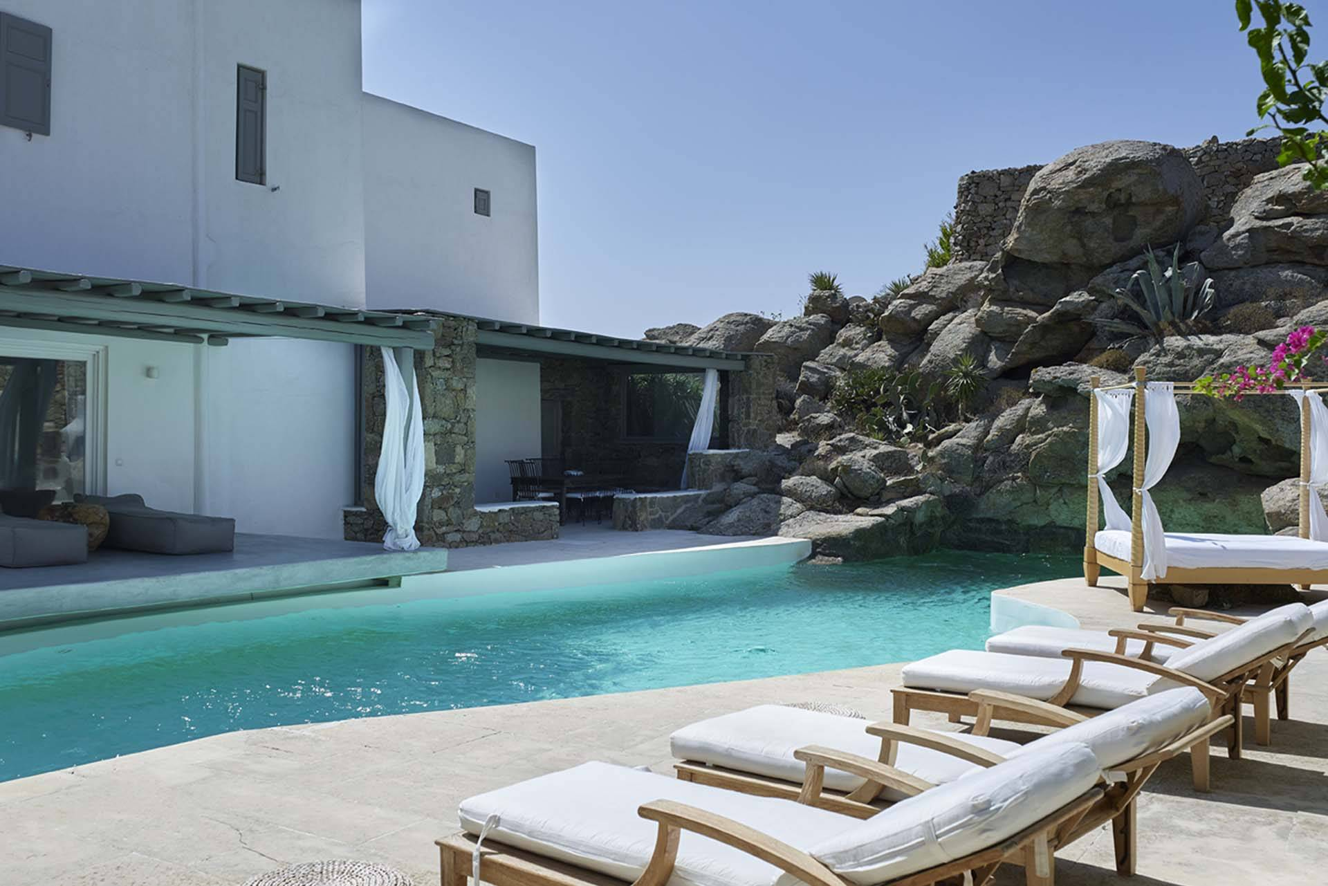 Mykonos luxury villa Jasmine in Pyrgi