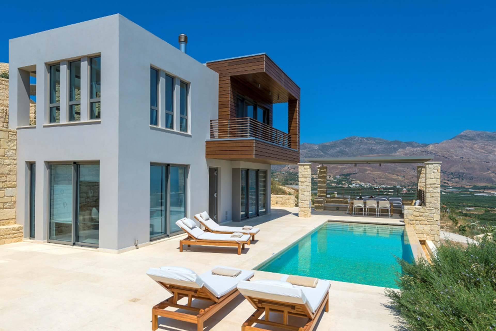 Crete luxury villa Sonata in Kissamos