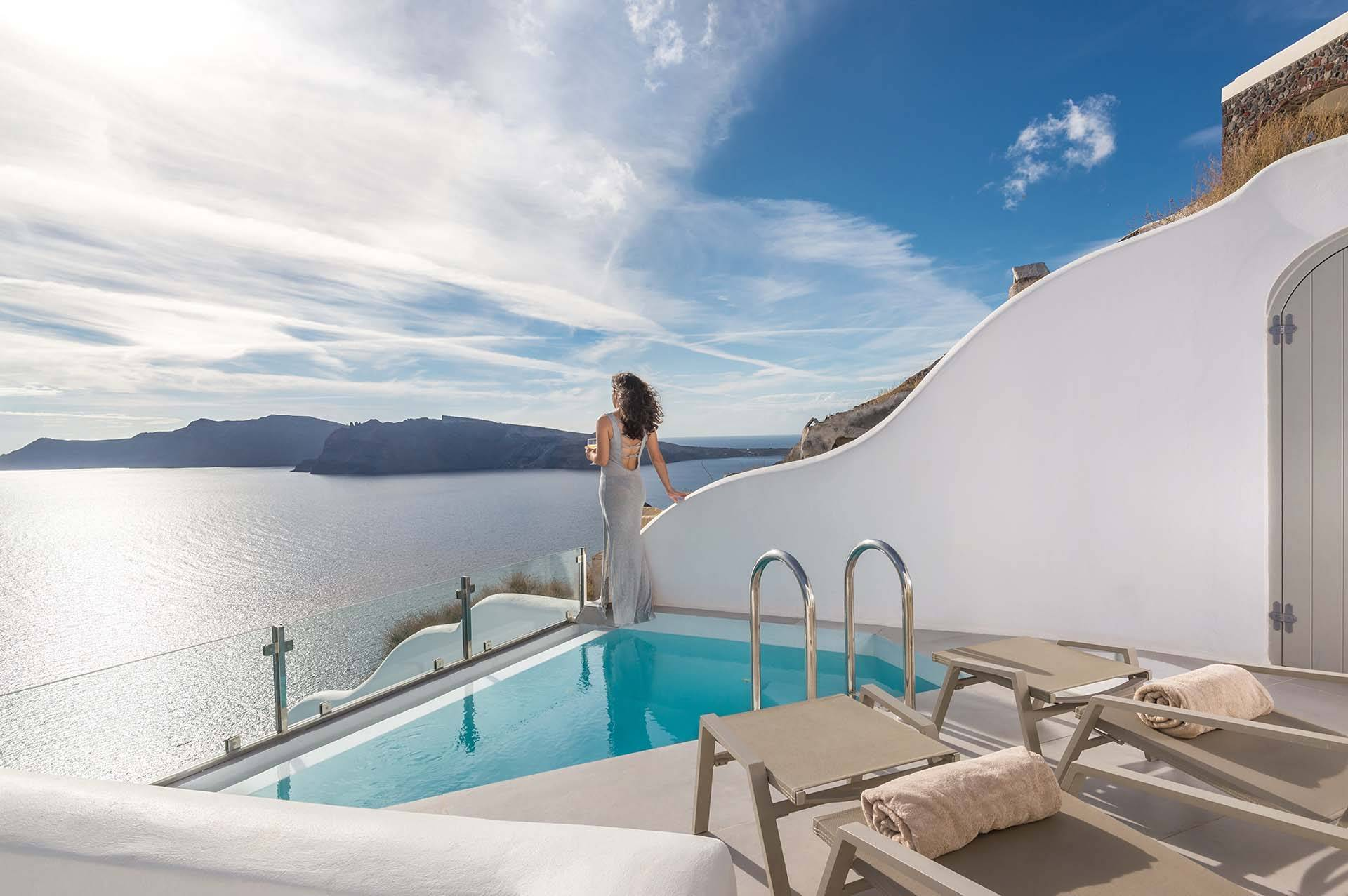 Santorini luxury villa Elite Oia in Oia