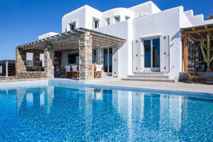 Mykonos luxury villa Jonathan in Ornos