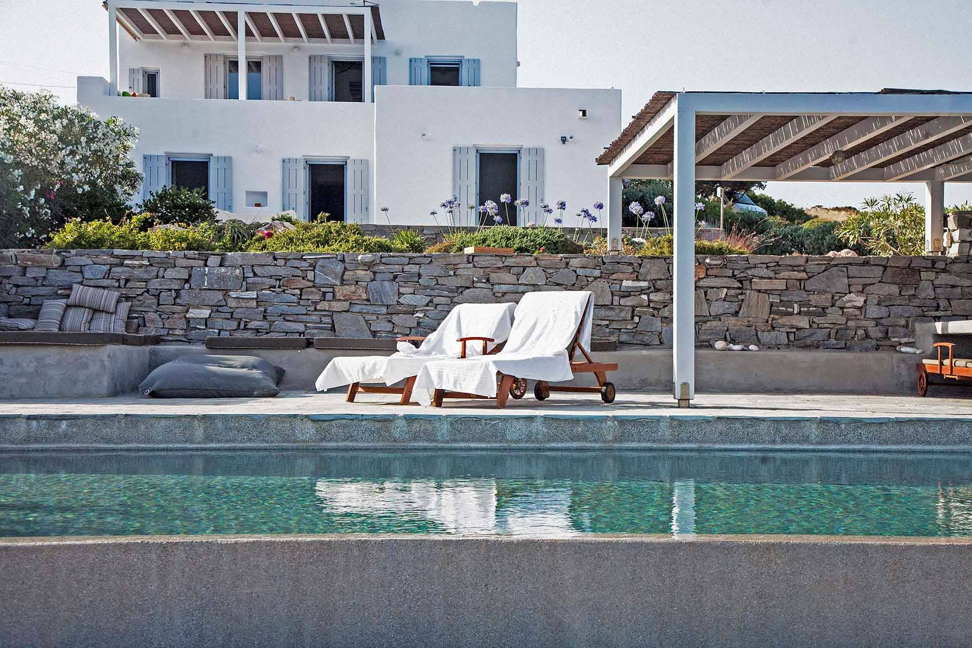 Paros luxury villa Daria Residence in Μakri Miti
